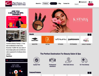 cosmeticatrading.com screenshot