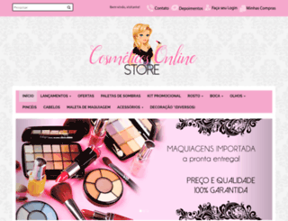 cosmeticos-online.boxloja.com screenshot