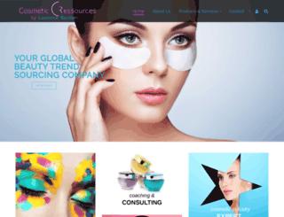 cosmeticressources.org screenshot