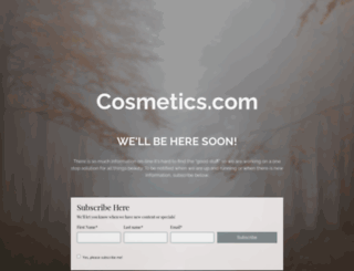 cosmetics.com screenshot