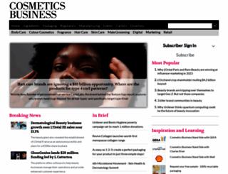 cosmeticsbusiness.com screenshot
