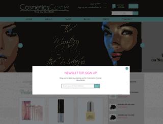 cosmeticscorner.com screenshot