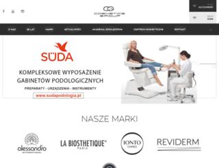 cosmeticsgroup.pl screenshot