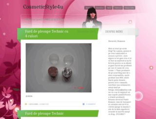 cosmeticstyle4u.wordpress.com screenshot