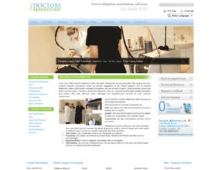 cosmeticsurgery-uk.com screenshot