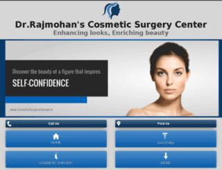 cosmeticsurgerychennai.in screenshot