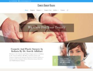 cosmeticsurgerykolkata.com screenshot