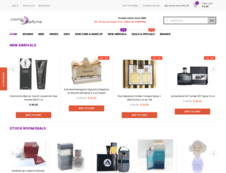 cosmic-perfume.com screenshot