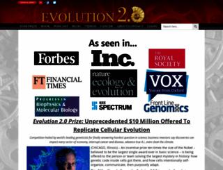 cosmicfingerprints.com screenshot
