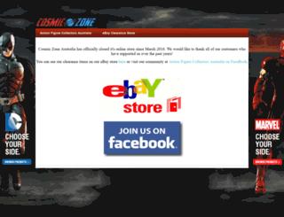 cosmiczone.com.au screenshot