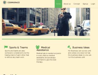 cosmigrace.com screenshot