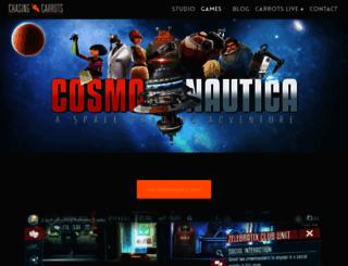 cosmo-nautica.com screenshot