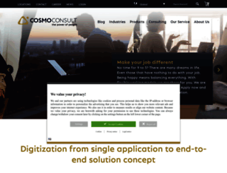 cosmoconsult.com screenshot