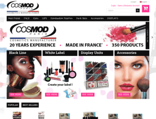 cosmodparis.com screenshot