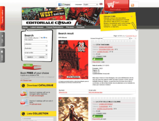 cosmoeditoriale.fumetto-online.it screenshot