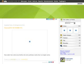 cosmomam.cosmopax.com screenshot