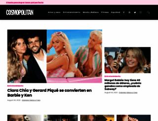 cosmopolitan.com.mx screenshot