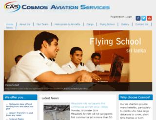 cosmosaviation.com screenshot