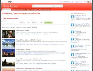 cosmotourist.de screenshot