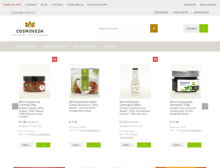 cosmoveda.com screenshot