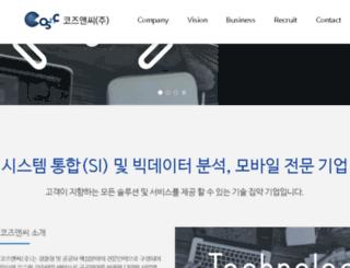 cosnc.co.kr screenshot
