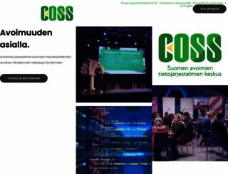 coss.fi screenshot