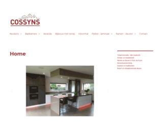 cossyns.be screenshot