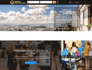 costa-rica.paginasamarillas.com screenshot
