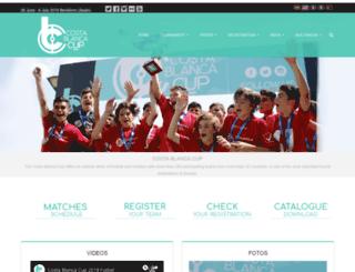 costablancacup.com screenshot