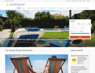 costacalidaholidaylettings.co.uk screenshot