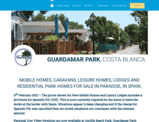 costadelparadise.com screenshot