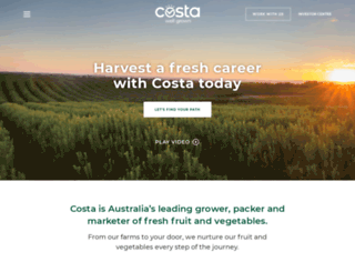 costagroup.com.au screenshot