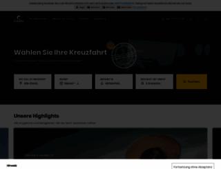 costakreuzfahrten.de screenshot