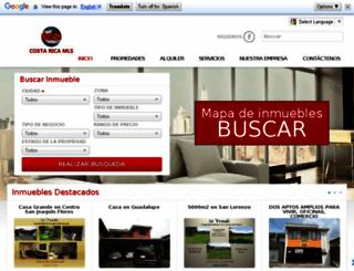 costarica-mls.com screenshot