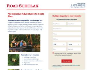 costarica2.roadscholaradventures.org screenshot