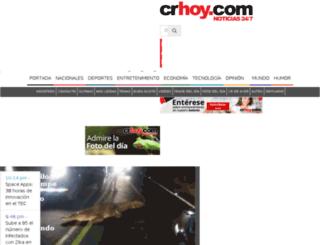 costaricahoy.info screenshot