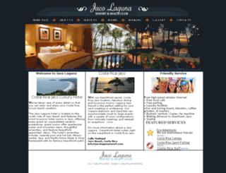 costaricajacoluxuryhotel.com screenshot