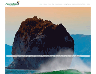 costaricanoceanhomes.com screenshot
