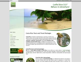 costaricatourscr.com screenshot