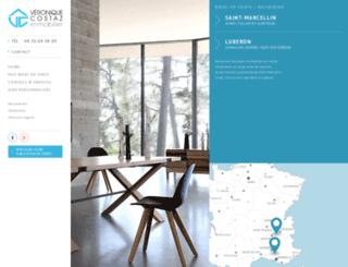 costaz-immobilier.com screenshot
