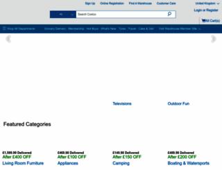 costco.co.uk screenshot