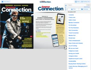 costcoconnection.com screenshot