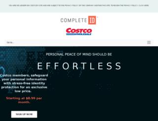 costcoidprotect.com screenshot