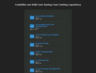 costkiller.net screenshot