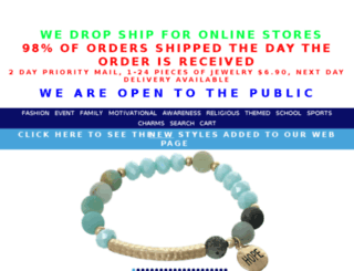 costume-jewelry-wholesale.com screenshot