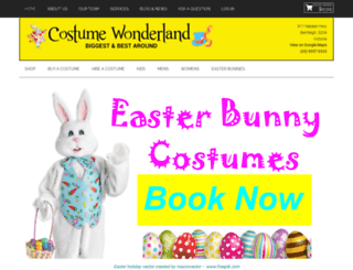 costumebazaar.com.au screenshot