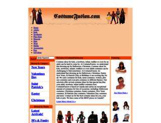 costumefusion.com screenshot