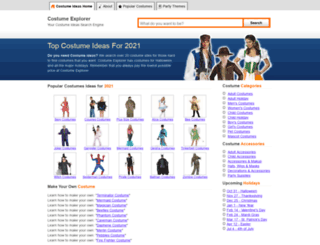 costumemachine.com screenshot