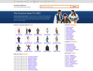 costumemachine.com screenshot