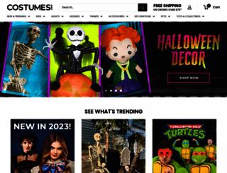 costumes.com screenshot